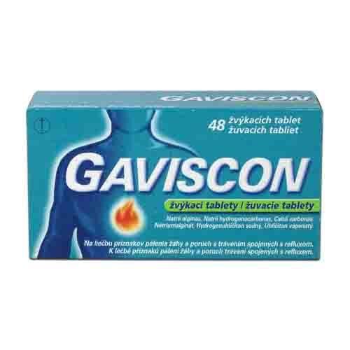 Gaviscon žvýkací tablety 48ks
