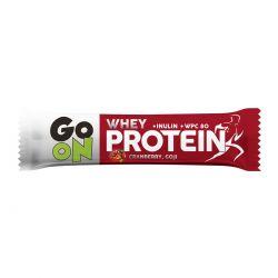 GO ON! Proteinová tyčinka s brusinkami a goji 50 g