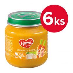 Hami Zelenina s krůtou 4m+ 6x125 g