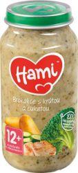 Hami Brokolice s krůtou a cuketou 12+ masozeleninový příkrm 250 g