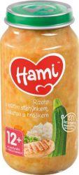 Hami Rizoto s krůtím cuketou a hráškem 12+ masozeleninový příkrm 250 g