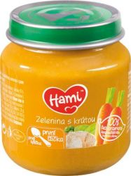 Hami Příkrm Zelenina s krůtou 4M 125 g