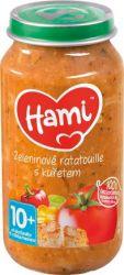 HAMI Příkrm zeleninové ratatouille s kuřetem 250g 10M