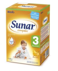 Sunar Complex 3 banán (nový) 600 g