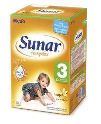 Sunar Complex 3 vanilka (nový) 600 g