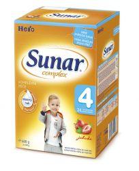 Sunar Complex 4 jahoda (nový) 600 g