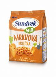 Sunárek Bio mrkvová kolečka křupky 50 g