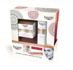 Eucerin Hyaluron-Filler + Elasticity Dárkový set denní krém + oční krém