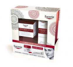 Eucerin Hyaluron-Filler + Volume-Lift Dárkový set denní krém pro normální a smíšenou pleť + oční krém