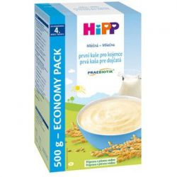 Hipp KAŠE PREBIO mléčnoobilná první kaše pro kojence 500 g