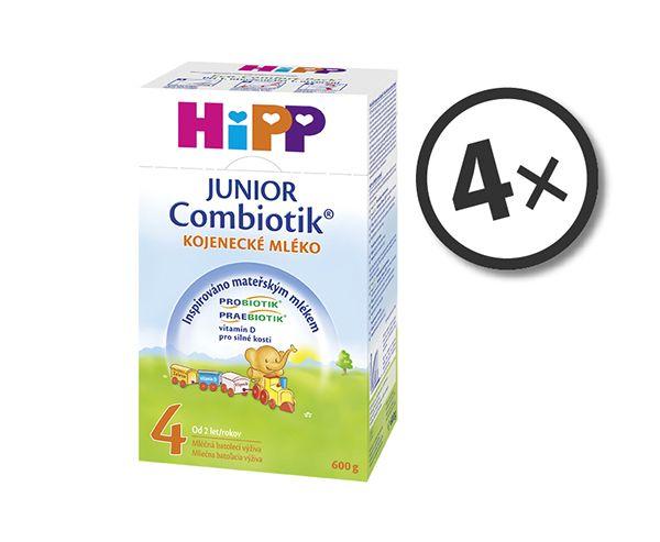 HiPP 4 JUNIOR Combiotik 4x600g