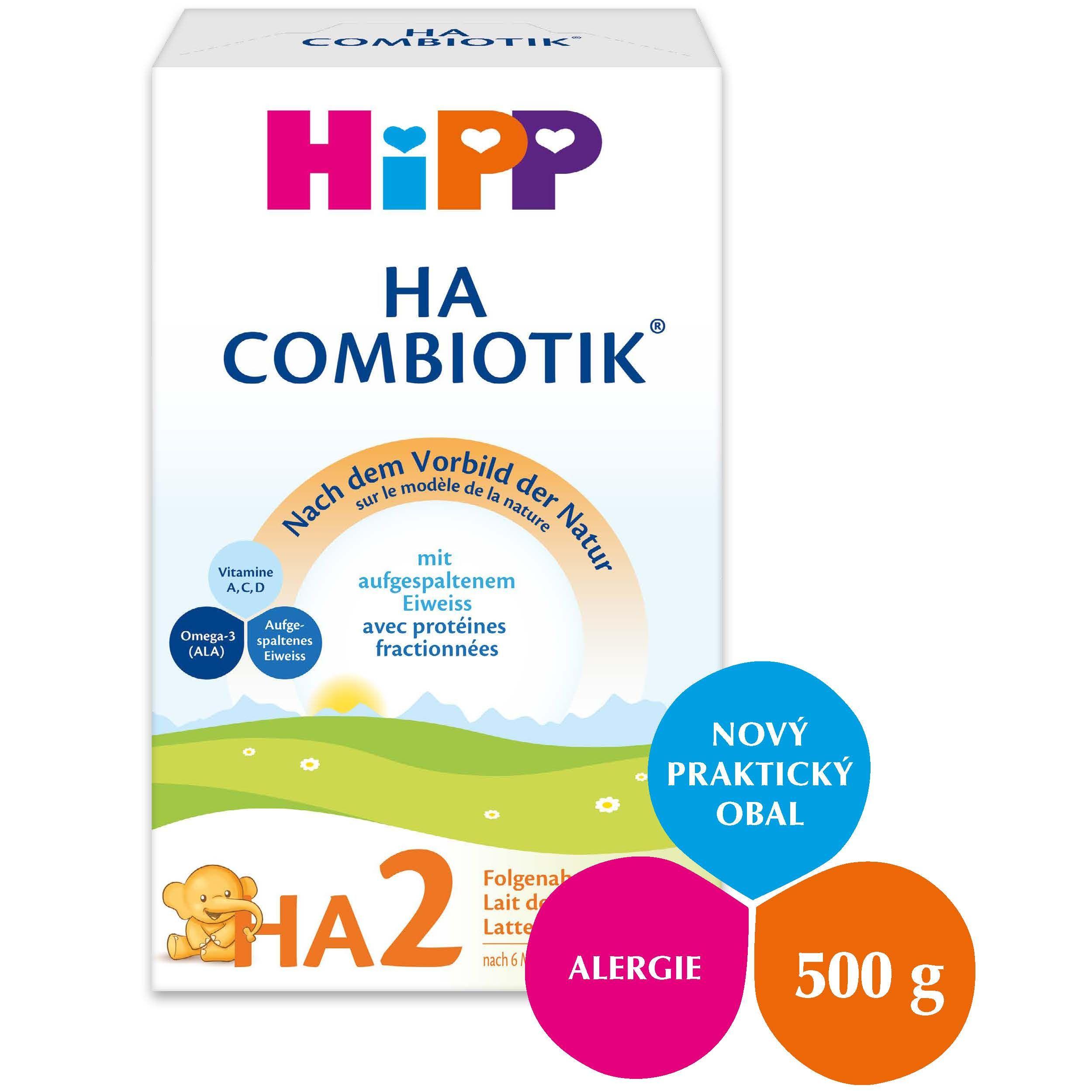 Hipp HA2 Combiotik mléko 500 g