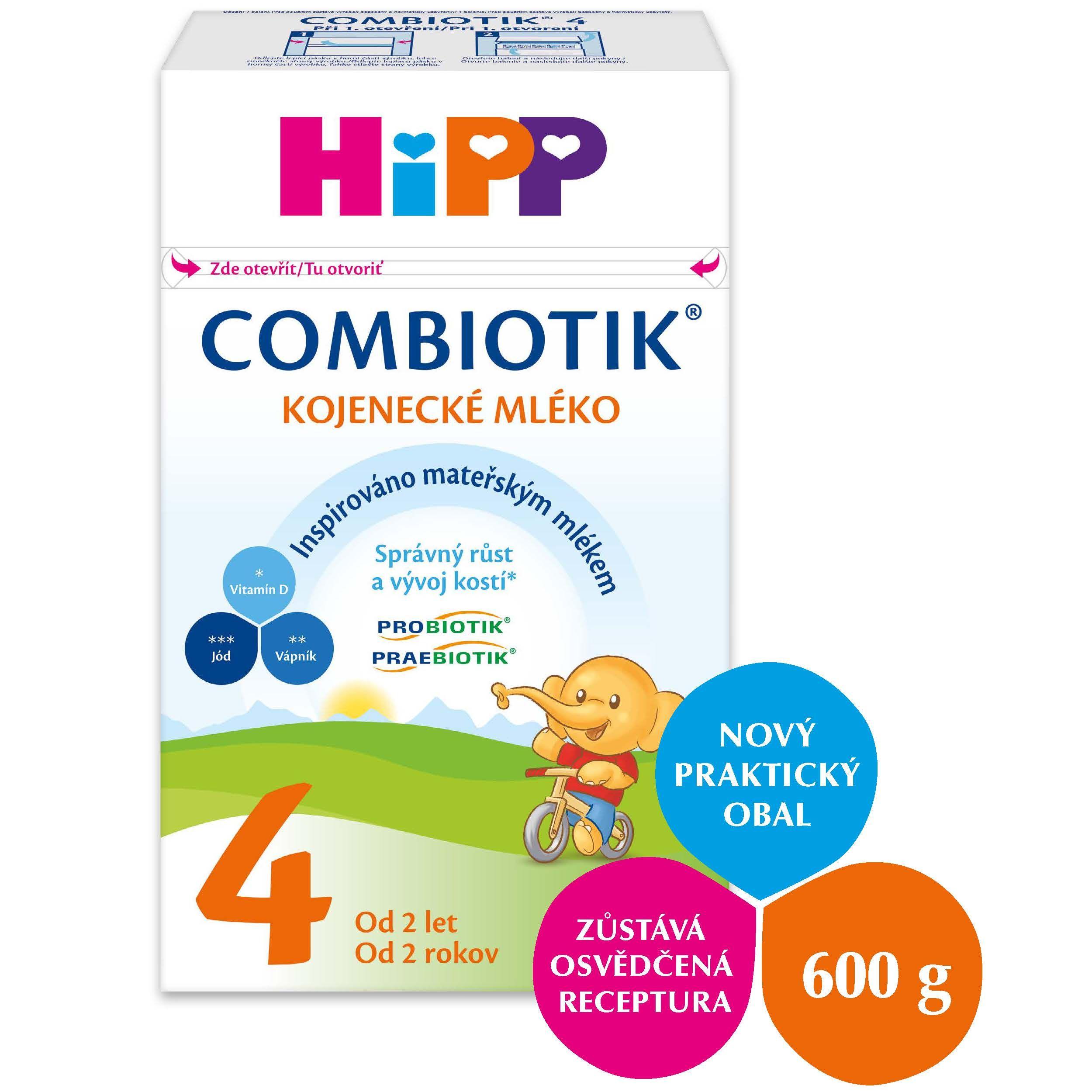 HiPP 4 JUNIOR Combiotik mléko 600g 24M