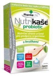 Nutrikaše probiotic s hruškami 3x60 g