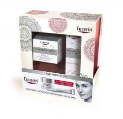 Eucerin Hyaluron-Filler Dárkový set denní krém pro suchou pleť + oční krém