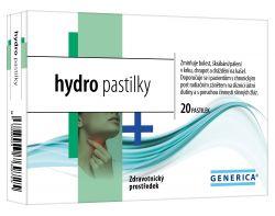 Generica hydro pastilky 20 pastilek