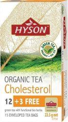 Hyson organický čaj na cholesterol porcovaný čaj 15x1,5 g
