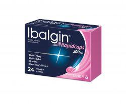 Ibalgin Rapidcaps 200 mg 24 tobolek