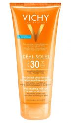Vichy Ideál Soleil Ultratající mléčný gel pro vlhkou nebo suchou pleť SPF 30 200 ml