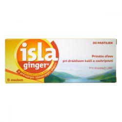 Isla Ginger bylinné pastilky 30 pastilek