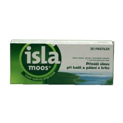 Isla Moos bylinné pastilky 30 pastilek