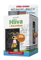 Imunit Jack Hlívák Hlíva s rakytníkem pro děti 60 tablet + Magic omalovánka
