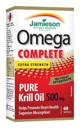 JAMIESON Omega COMPLETE Pure Krill 500 mg 60 kapslí