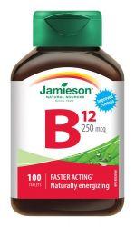 JAMIESON Vitamín B12 metylkobalamín 250 μg 100 tablet