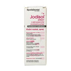 Jodisol Sprej s mechanickým rozprašovačem 7 g