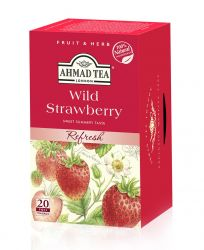 Ahmad Tea Lesní jahoda porcovaný čaj 20 x 2 g