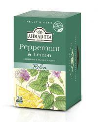 Ahmad Tea Máta & Citron porcovaný čaj 20 x 2 g