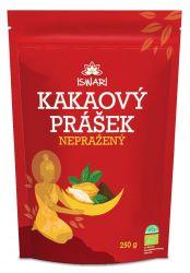 Iswari BIO Kakaový prášek nepražený 250 g