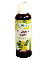 Dr. Popov Kotvičník zemní bylinné kapky 50 ml