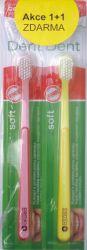 Cemio Dent Soft - zubní kartáček 1+1 AKCE
