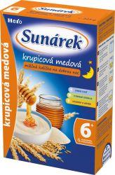 Sunárek Krupicová kašička na dobrou noc mléčná medová 225 g