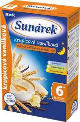 Sunárek krupicová kašička na dobrou noc mléčná vanilková 225 g