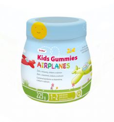 unes Kids Gummies AIRPLANES 225 g 50 ks