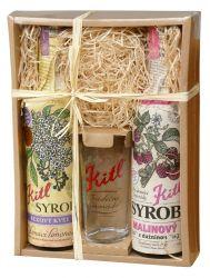 Kitl Syrob Bez + Malina dárkové balení 2x500 ml