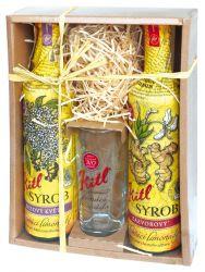 Kitl Syrob Bez + Zázvor dárkové balení 2x500 ml