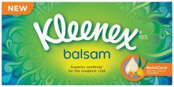 Kleenex Balsam kapesník papírový box 80ks
