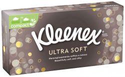 Kleenex Ultra Soft kapesníky papírové box 80 ks