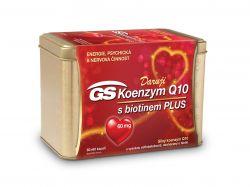 GS Koenzym Q10 Plus 60 mg 60+60 kapslí + dárek