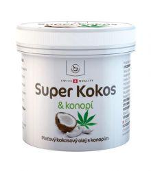 Herbamedicus Super Kokos a konopí pleťový olej 150 ml