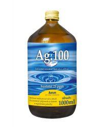 Pharma Activ Koloidní stříbro Ag.100 25 ppm 1000 ml