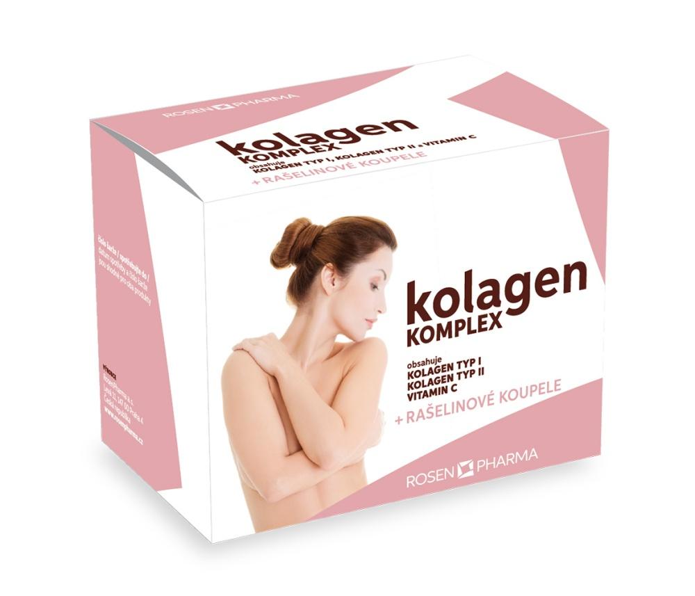 ROSEN Kolagen KOMPLEX tbl.120 + rašelinové koupele