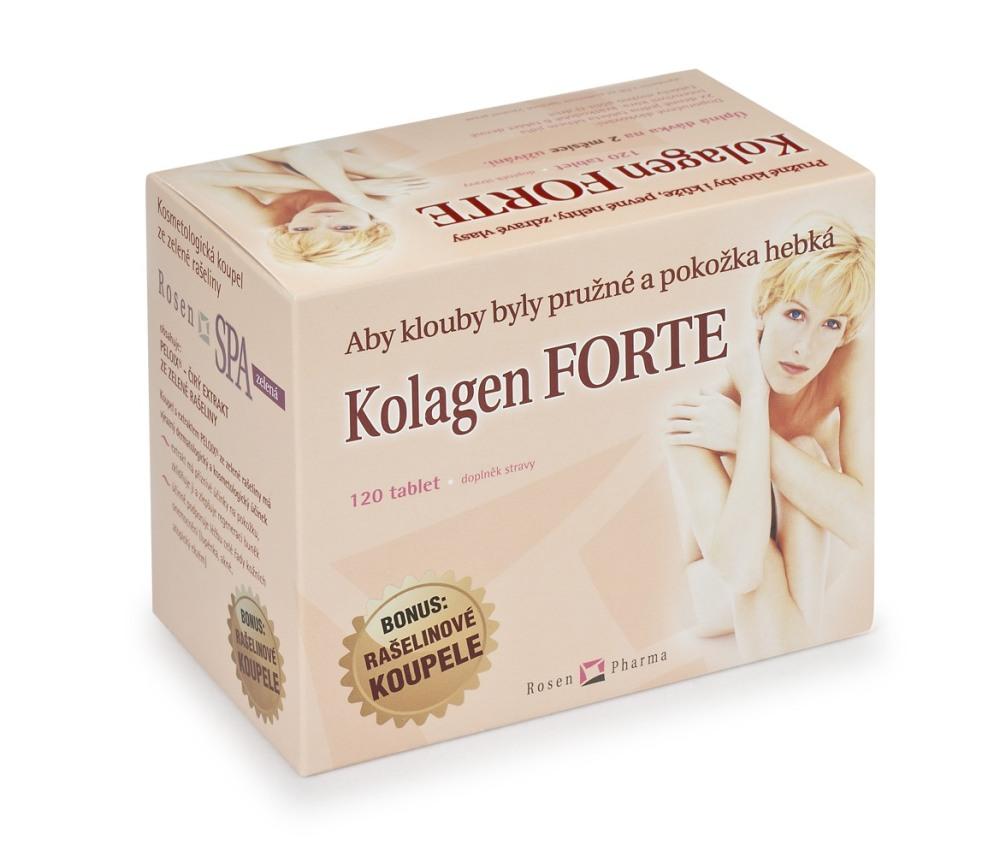 ROSEN Kolagen Forte tbl.120+2 RosenSpa koupel