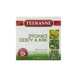 Teekanne Dýchací cesty a krk bylinný čaj 10x2 g