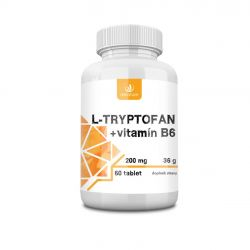 Allnature L-tryptofan + vitamin B6 200 mg/2,5 mg 60 tablet