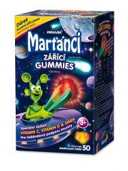 Marťánci zářící gummies 50 ks
