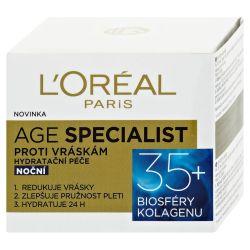 Loréal Paris Age Specialist hydratační noční krém proti vráskám 50 ml